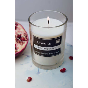 Pomegranate Scented Inspirational Candle - NN Inspirational Gifts