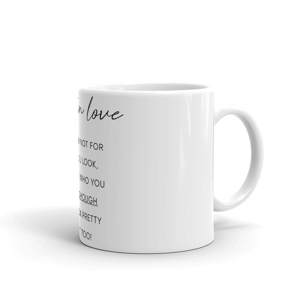 Passionate Gift Mug - I Fell In Love With You - NN Inspirational Gifts