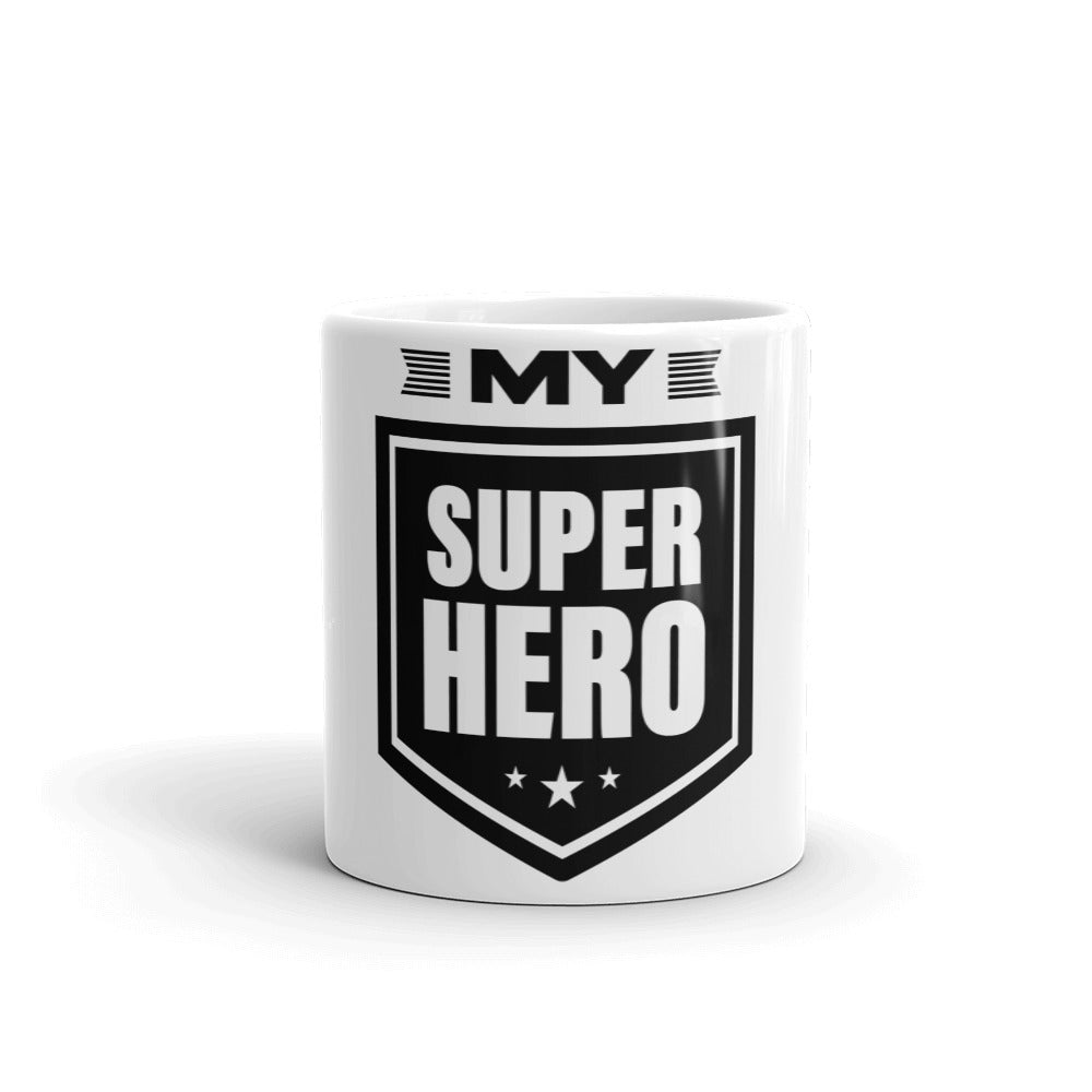 Inspirational Gift Mug - My Super Hero - NN Inspirational Gifts