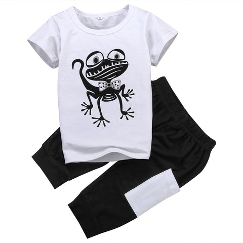 Frog Outfit T-Shirt+Short Pant