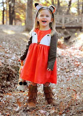 Fox Dress Sleeveless Tutu Dresses