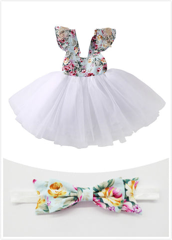 Dress Party Ball Gown Lace Tutu