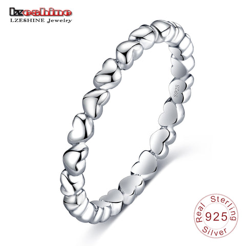Romantic Ring 925 100% Solid Sterling Silver Forever Love