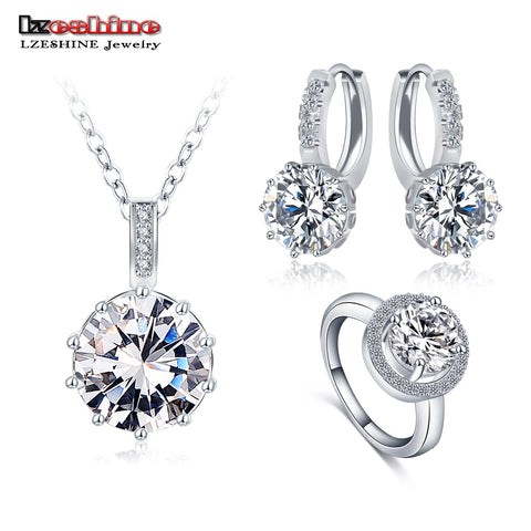 Top Sale Luxury Classical Set  Necklace/Earring/Ring Set