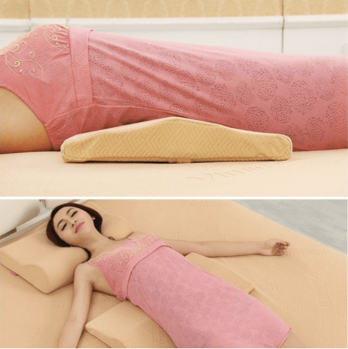 memory foam lumbar pillow