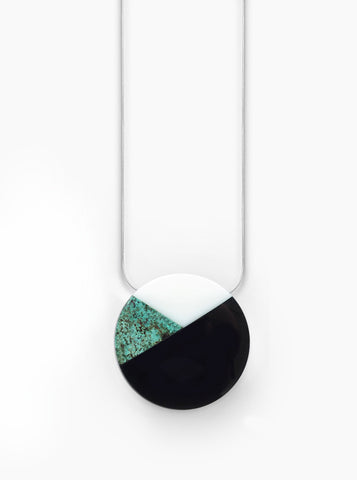 Super Moon Necklace (African Turquoise)