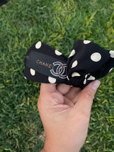 Chanel inspired bow headband