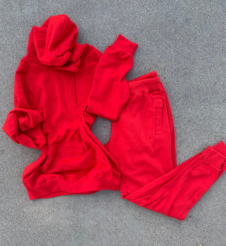 Mabel jogger set (red)