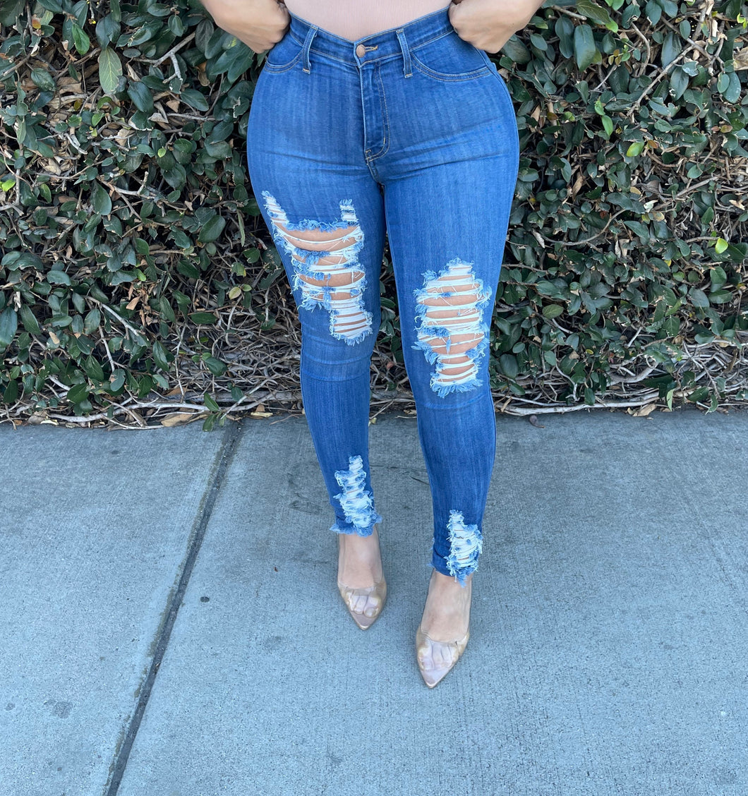 Love Distressed Jeans