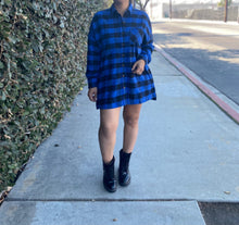 Gianni flannel dress