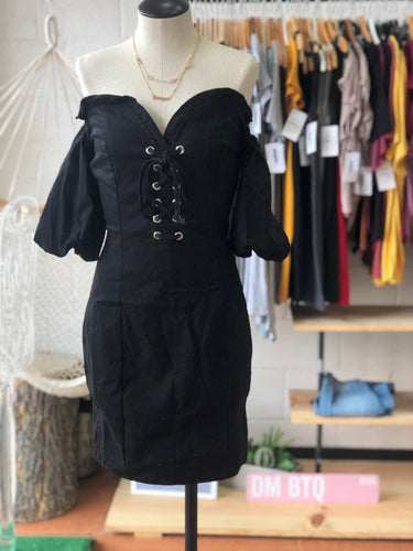 Kimbella dress (black)