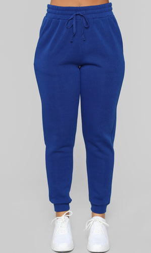 Laid back joggers (royal blue)
