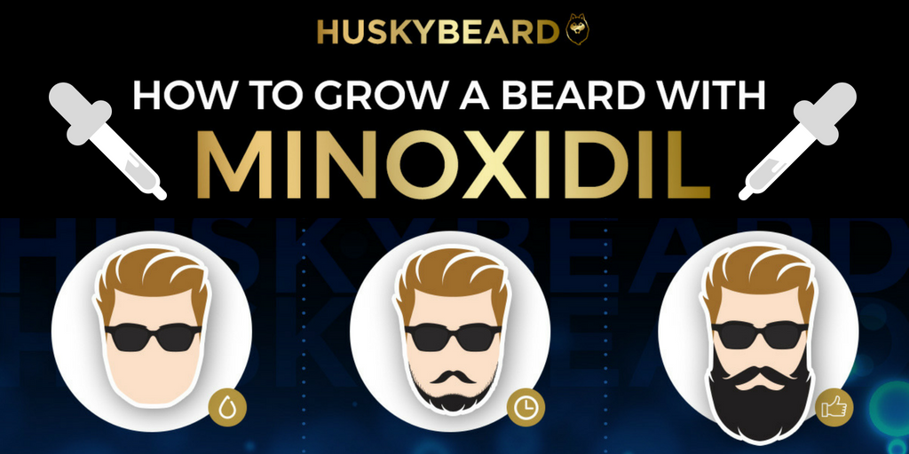 Minoxidil & Beard Growth: Most Frequently Asked Questions - HUSKYBEARD