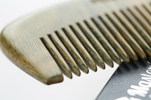 Sandalwood Wooden Beard Comb Benefits