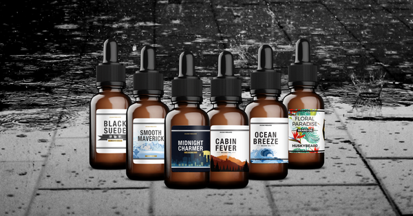 HUSKYBEARD Beard Oil Collection
