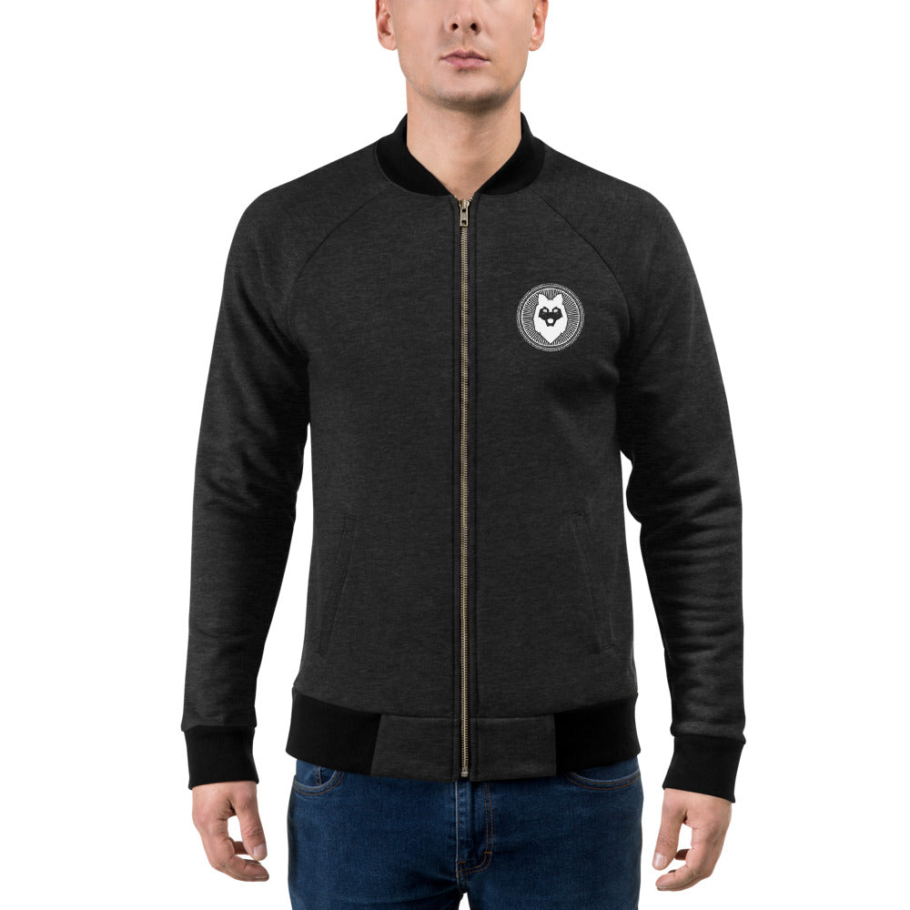 Husky Beard & Grooming Bomber Jacket - Large Logo on Back