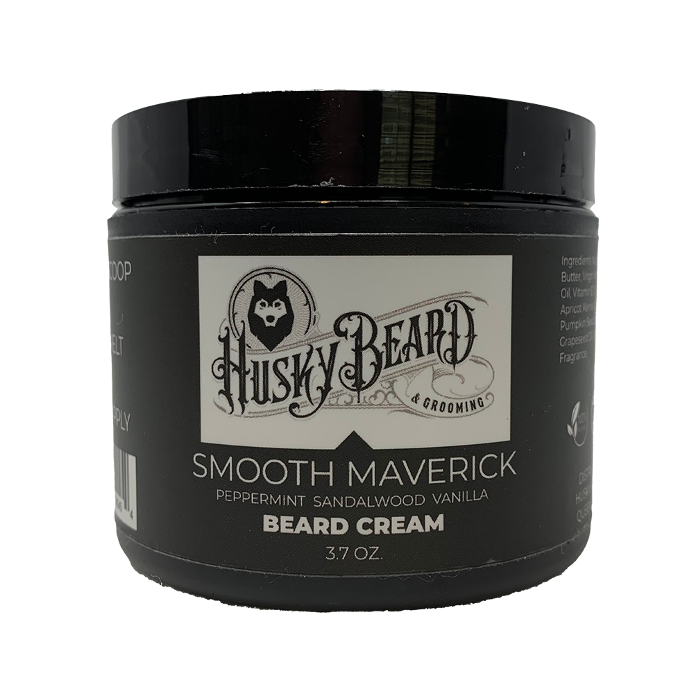 Smooth Maverick Beard Oil or Beard Cream - Smooth Wood and Minty Scent