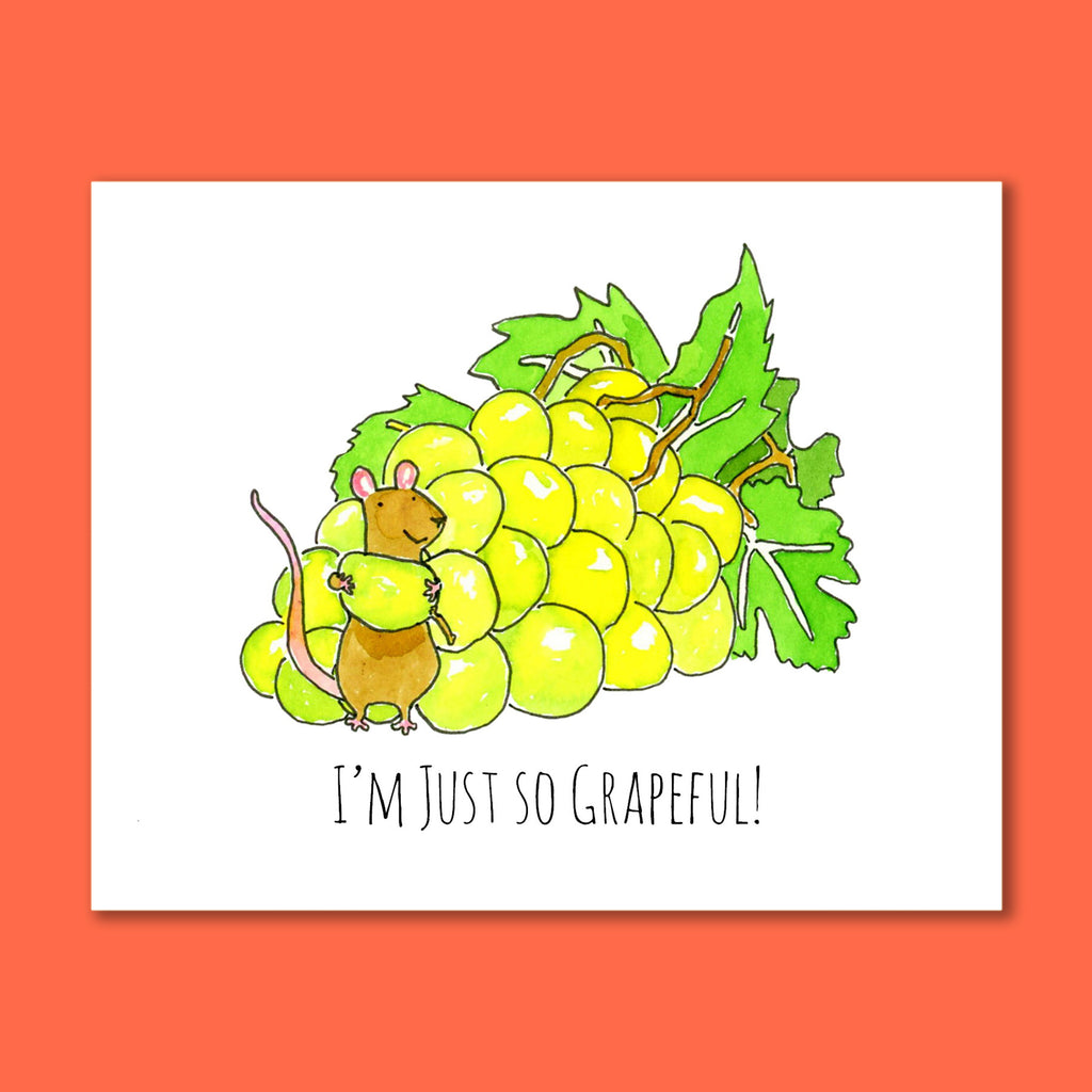 Grapeful 8X10 Art Print