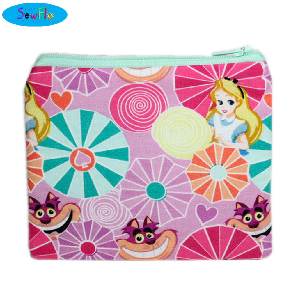 Alice in Wonderland Change Purse - SewFlo
