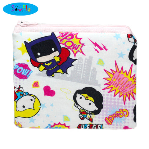 DC Comics Coin Pouch - SewFlo