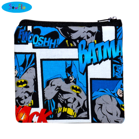 Batman Change Wallet - SewFlo