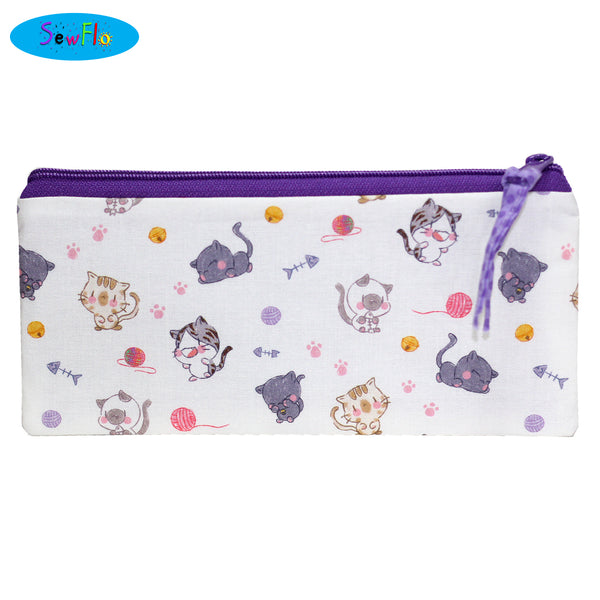 Chibi Cats Pencil Case - SewFlo