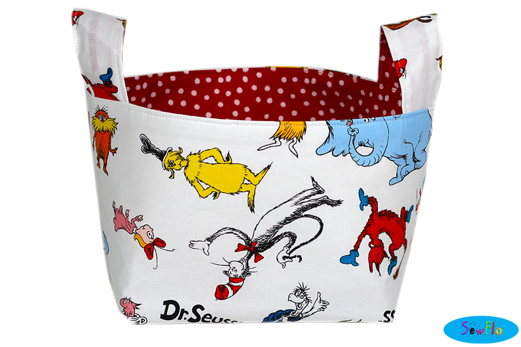 Dr. Seuss Storage Basket