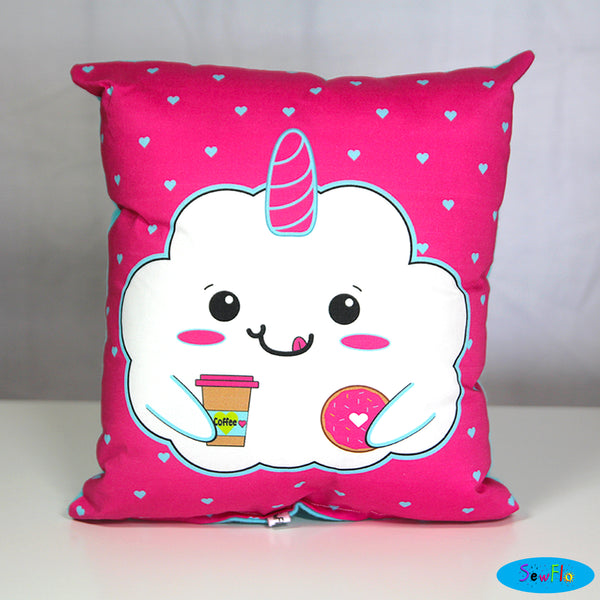 Cloudia Throw Pillow