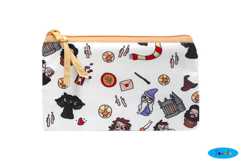 Chibi Harry Potter Zipper Bag
