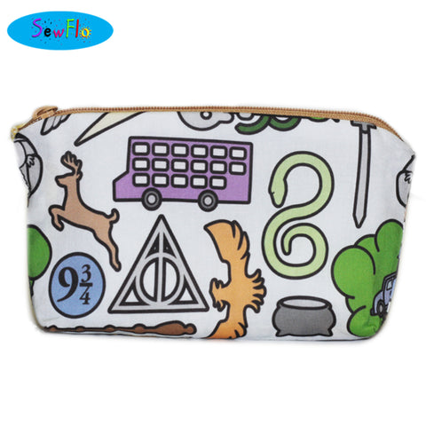 Harry Potter Zipper Bag