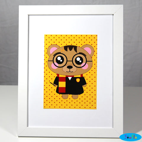 Barry Potter Print - SewFlo