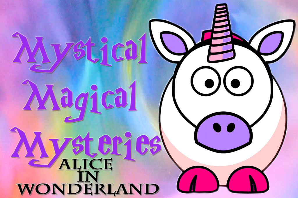 Mystical Magical Mysteries Knitting Bag and Zipper Pouch-Alice in Wonderland