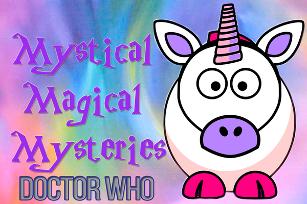 Mystical Magical Mysteries Knitting Bag and Zipper Pouch-Doctor Who