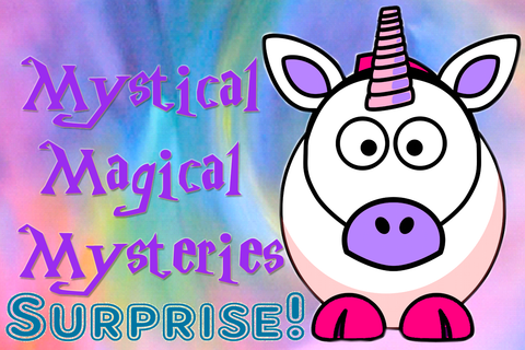 Mystical Magical Mysteries Knitting Bag and Zipper Pouch-Surprise