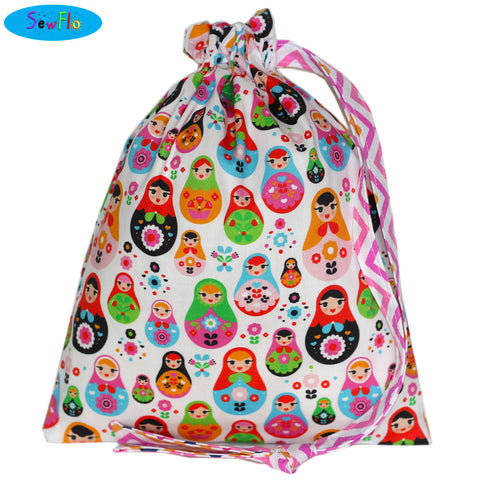 House Elf Knitting Bag-Matryoshka Dolls