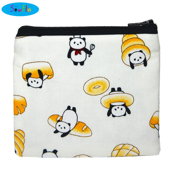 Panda Bread Coin Purse - SewFlo