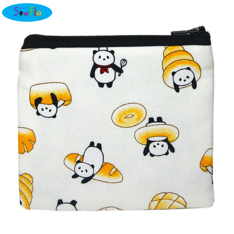Panda Bread Coin Purse