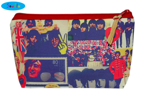 The Beatles Makeup Case