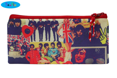 The Beatles Pencil Pouch Misfit