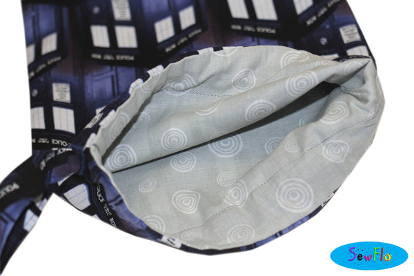 Doctor Who Zipper Pouch