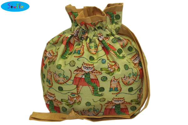 Half Giant Knitting Bag-Cats Knitting