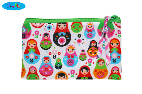 Matryoshka Dolls (Small Zipper)