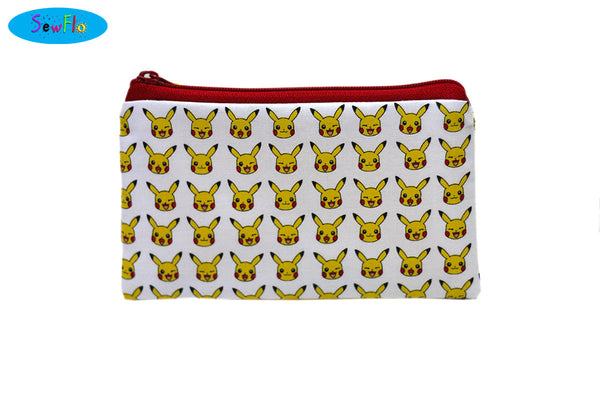 Pikachu Zipper Bag
