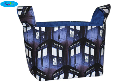 TARDIS Storage Basket