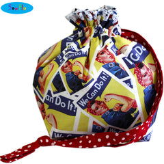 Half Giant Knitting Bag-Rosie the Riveter