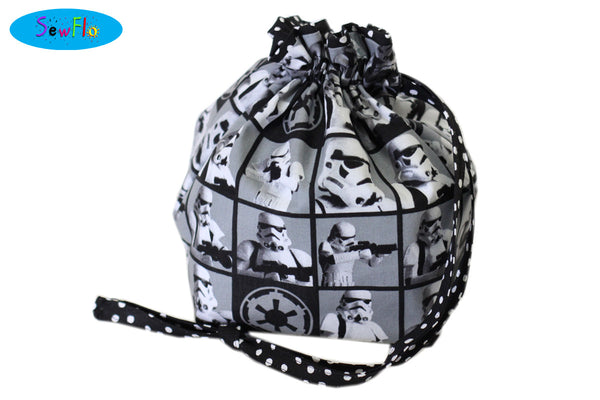 Half Giant Knitting Bag-Stormtroopers