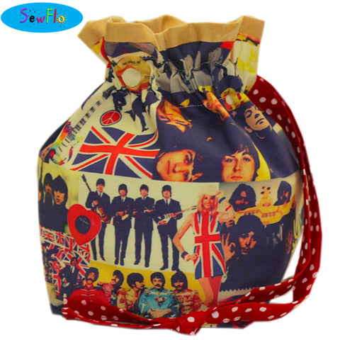 Half Giant Knitting Bag-The Beatles