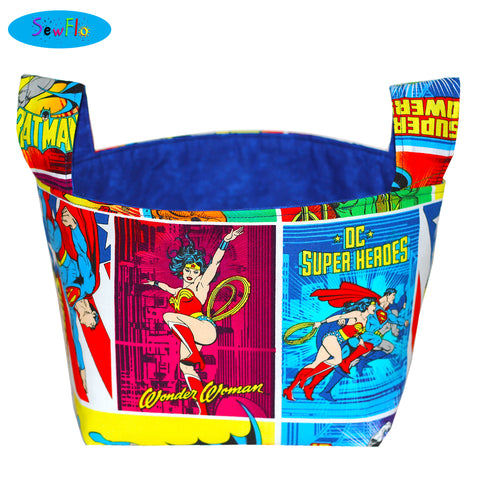 Justice League Storage Bin