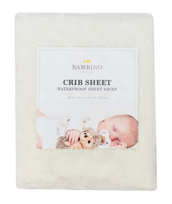 Crib Sheet Saver - Ivory