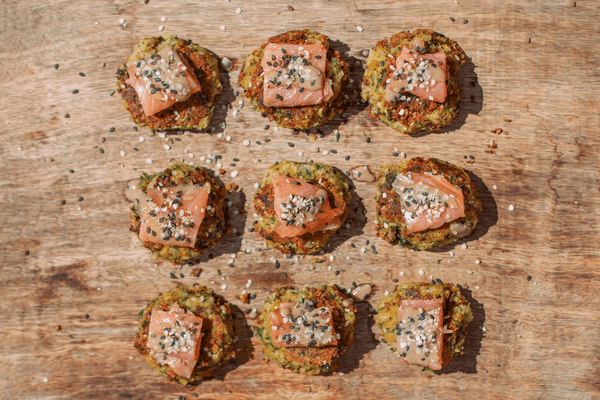 Brain-Loving Salmon Falafel Bites